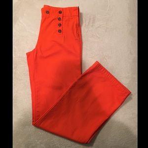 J Crew Wise Leg Sailor Pant Size 2